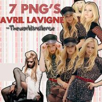Avril Lavigne Pack PNG's by Theworldinsilence