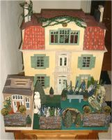 18th Scale Dolls House Garden by Forestina-Fotos