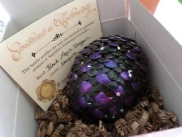Black Magic Dragon Egg - SOLD! by Nephilims-FC-Shop