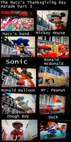 The Macy's Thanksgiving Day Parade Part 4 by Mike-The-Winner