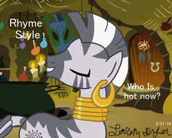 Zecora Drops Them Rhymes by lcponymerch