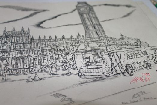 My Very First CityScape (London) by Atlas234
