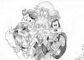 Kingdom Hearts - Friendship by guilherme-batista