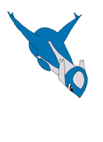 Latios Colored by SkulblakaShurtugal