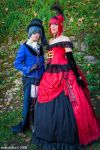 Ciel and Madame Red -1- by NekoHibaPC