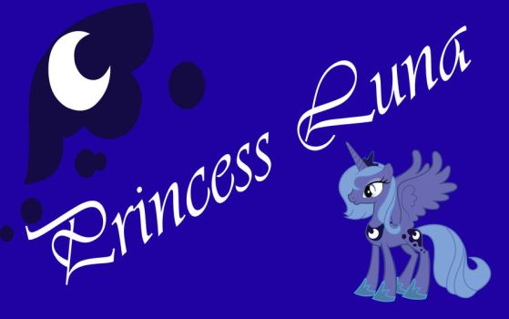 Princess Luna Poster by fade2BLACK205