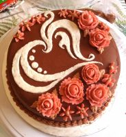 Nutella Cake by PerfectlyAbnormal