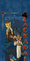 2013 Lackadaisy Banner - Blue by cacophonycat