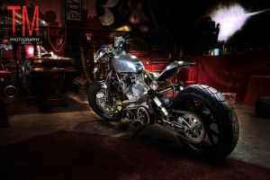 Custom Bike in Workshop by tmz99