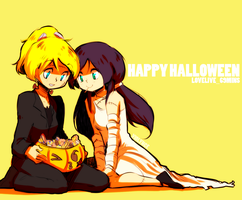nozoeli halloween by VI0LYNCE