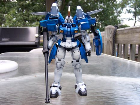 Tallgeese II Front: Full by Action-Fig