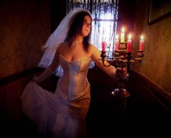 The Haunted Mansion Bride by Galaad-Phantom