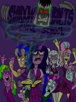 shadowbolts ghoul school by HINCAPIE319