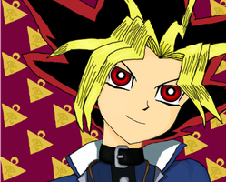 Fukkireta Yami no Yugi by strwberry-muse