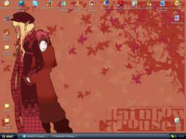 My new Desktop by LadyFeniceNera