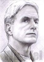 Mark Harmon as Gibbs NCIS PSC by whu-wei
