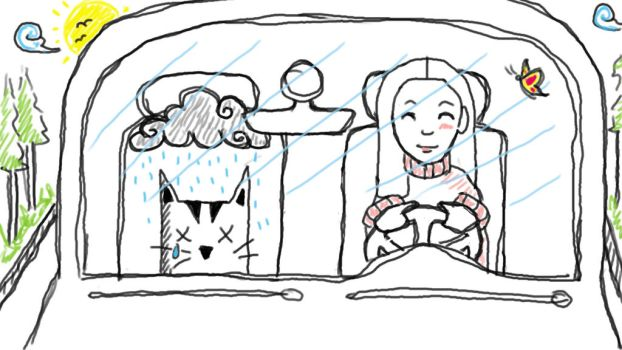 Going to the Vet by Luzaaa