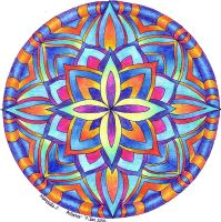 Mandala 2 by Artwyrd