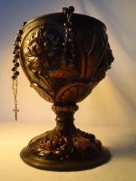 victorian vintage old goblet by lemon-stock