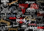 Metal Bands Logos by khairulridwan