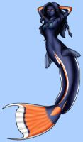 Achilles Tang Mermaid by ArienRavyn