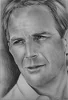Kevin Costner by CristinaC75