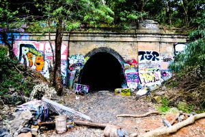 Otford-Stanwell Park tunnel. by littleplasticastle