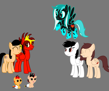 Group drawing by BraveGunner