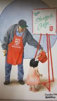Norman Rockwell inspired painting by Greasypalms