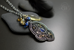 Fairy necklace by JoannaWatracz