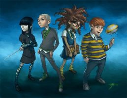 Hogwarts Kids... by johnnyrocwell