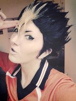 Nishinoya Yuu Cosplay TEST - Haikyuu by Murdoc-lein