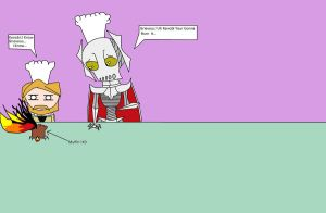 Obi Wan And grievous Cooking by Shadowismrevilgecko