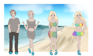 Beach Bimbo TG by Luxianne