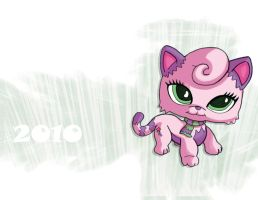 Littlest pet shop card by Samholy