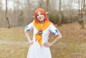 Malon from The Legend of Zelda by HizakiCosplay