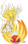 Super Sonic- Charge by Feniiku
