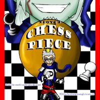 Chess Piece DVD Cover Entry by pandapenguin