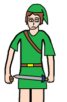 Anthony as Link by blackevil915