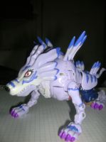 Un Garurumon by Gabusin