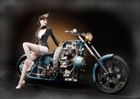 West Coast Choppers calendar by candeecampbell