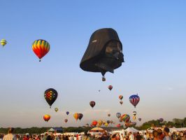 Balloon Festival 35 by Dracoart-Stock