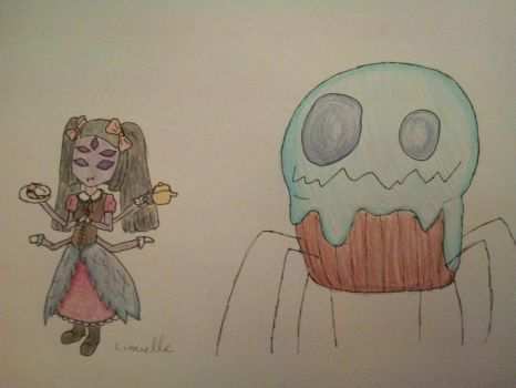 JiyiTale - Muffet and her pet by Limielle