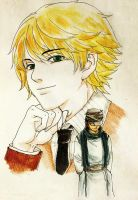 Pariston and Ging by Curayukie