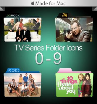 -Mac- TV Series Folders 0-9 by paulodelvalle
