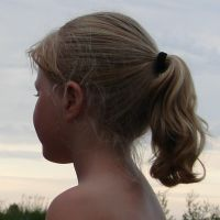 BBL Little Girl with Ponytail by FantasyStock