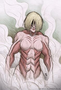 Female Titan by Fuelreaver