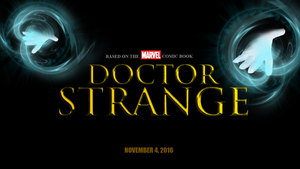 Doctor Strange movie logo by chronoxiong