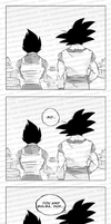 DBZ - Guy Talk by longlovevegeta