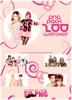 K POP PNG PACK [200 WATCHERS] by michiru92